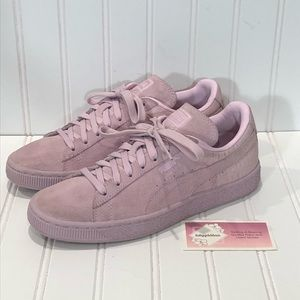 Puma Classic Emboss Suede Lilac Snow Pink